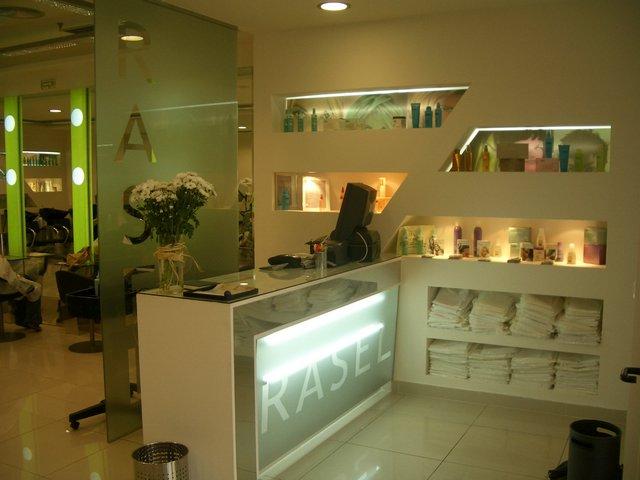 Trabajos para peluquer a rasel en pamplona realizados por arquinte estudio de decoraci n - Decoracion pamplona ...